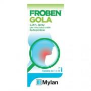 BGP PRODUCTS Srl MYLAN SPA (MERCK GENERICS) FROBEN GOLA SPRAY NEBULIZZATORE 15ML 0,25%