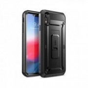 Carcasa 360 grade Supcase Unicorn Beetle Pro iPhone XR cu protectie display Black