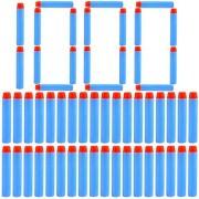 Refill Darts, Lingxuinfo 1000-Dart Refill Pack Refill Bullets for nerf n-Strike Elite Series Retaliator Rampage rapidstrike CS-18 surgefire strongarm stryfe Blaster (Light Blue)
