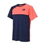ニューバランス newbalance ベーシックカラーブロックラグランゲームTシャツ メンズ > アパレル > テニス > トップス ピンク