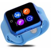 Ceas Smartwatch cu Telefon iUni V88 1.22 inch BT 64MB RAM 128MB ROM Albastru Bonus Bratara Roca Vulcanica unisex