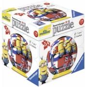 Puzzle 3D Minions, 54 piese Ravensburger