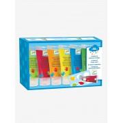 DJECO 6 tubos de tinta para dedos, da DJECO bege medio liso com motivo