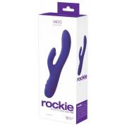 VeDO Rockie - akkus, csiklókaros G-pont vibrátor (lila)