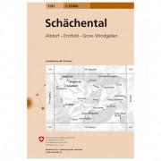 Swisstopo 1192 Schächental Carta escursionistica