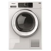 Uscator de rufe ST U 92X EU, Pompa de caldura, 9 kg, Clasa A++, Motor Inverter, 6th Sense, Display digital, Alb