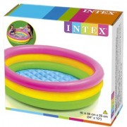 God Devotee Intex Inflatable 3 Feet Baby Swimming Pool/Bath Tub.