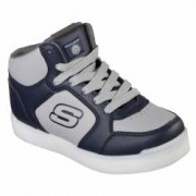 Pantofi sport copii cu luminite Skechers S LIGHTS- E-PRO gri 34