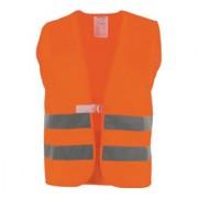 Industrial Quality Supplies Gilet de signalisation taille universal orange 100 % PES EN 20471 cl. 2 ASATEX