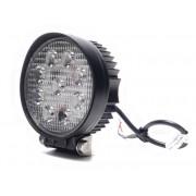 Munkalámpa 9 LED-es kerek szúró fény