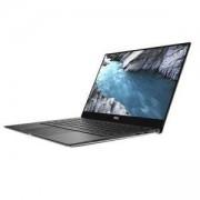 Лаптоп Dell XPS 13 9370, Intel Core i7-8550U (up to 4.00GHz, 8MB), 13.3 UltraSharp 4K UHD (3840x2160) Infinity Touch, 8GB, 256GB, 5397184099605