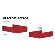 Mercedes Actros 2012-től ülés láb borítás PÁR PIROS