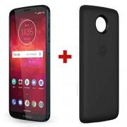 Motorola Moto Z3 Play Smartphone, Versión estándar, ndigo Profundo