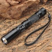 Linterna UltraFire C3 con 2xAA Extension haz de tubos