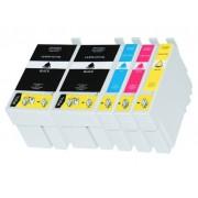 (5pack) EPSON T2715 multipack 27XL - kompatibilné náplne do tlačiarne Epson