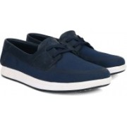 Clarks Nautic Harbour Blue/Green Sneakers For Men(Blue)