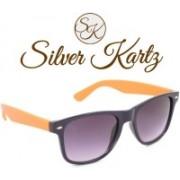 Silver Kartz Wayfarer Sunglasses(Grey)