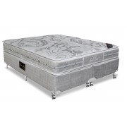 Colchão Castor de Molas Pocket Super luxo Látex Plush SLX Double Face - Colchão Solteiro - 0,88x1,88x0,36 Sem Cama Box