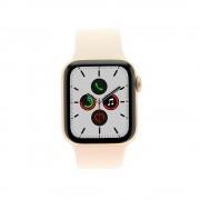 Apple Watch Series 5 - caja de acero inoxidable en oro 40mm - correa sport sandrosa (GPS+Cellular) refurbished