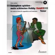 Schott Saxophon spielen - mein schönstes Hobby Bd.2 Libros didácticos
