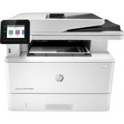 HP - LaserJet Pro MFP M428fdn Black-and-White All-In-One Laser Printer - White