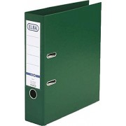 Biblioraft A4, plastifiat PP/PP, margine metalica, 80 mm, ELBA Smart Pro - verde