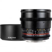 SAMYANG 85mm T1.5 VDSLR AS IF UMC Cine - NIKON - 2 Anni Di Garanzia