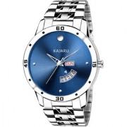 KAJARU DD-K009 Blue Dial DayAndDate Chronograph Functioning Stainless Steel Watch For Men