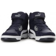 Puma Rebound Street SD Mid Ankle Sneakers For Men(Blue)