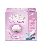 Corman Spa Lady Presteril Cotton Power Pocket Proteggi Slip In Cotone 24 Pezzi