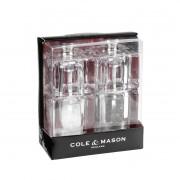 Комплект мелнички за сол и пипер COLE & MASON MINI CUBE - 9 см
