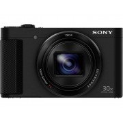 Sony DSC-HX90 Digitale camera 18.2 Mpix Zwart Draai- en zwenkbare display, Elektronische zoeker, Full-HD video-opname, WiFi