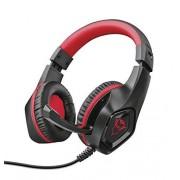 Trust GXT 404R Rana Auriculares circumaurales para Gaming con micrófono Plegable y Diadema Ajustable para Nintendo Switch, Negro