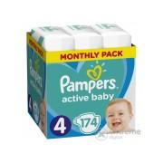 Pampers Active Baby pelenke Monthly Box, 4- , 174 kom