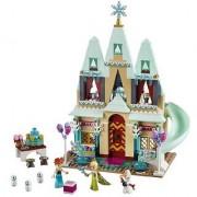 Emob High Quality 483 Pcs Happy Princesses Snowman Building Blocks Set Castle Gift Toy (Multicolor)