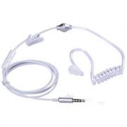 Callmate AR Earphone Headset Stereo Air Tube 3.5mm Handfree For All Mobiles -White