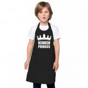 Shoppartners Keukenprinses keukenschort zwart meisjes - Action products