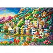 Ravensburger puzzle orasul visului, 1000 piese