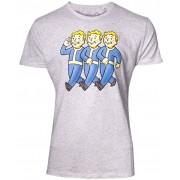 Fallout - Three Vault Boys T-Shirt