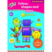 Carte de colorat - Culori, Forme si Dimensiuni
