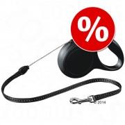 flexi New Classic Cord Lead S черен, 5 м на специална цена! - flexi New Classic Small черен