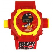 Angry Bird 24 Photo Projector With Digital Watch For KIDS