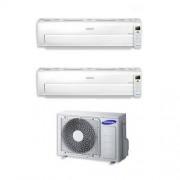 Samsung Condizionatore Samsung Dual Split Inverter 7000+7000 7+7 Btu Ar7000m Wi-Fi A++ Aj040fcj2eh/eu