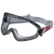 Ochelari de protectie tip goggle 3M, cu aerisire indirecta, lentila din policarbonat Premium
