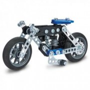 Set constructie metalic 5 in 1 Meccano Motocicleta 176 piese