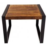 indickynabytek.cz - Konferenční stolek Retro 60x45x60 z indického masivu mango, Retro