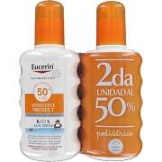 Eucerin Kids Spray Sensitive Protect Spf50 200ml (second Unit 50%)