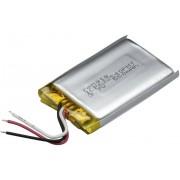 Acumulator Li-Po (litiu-polimer) prismatic 3,7 V, 600 mAh, Renata ICP622540PMT