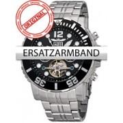 Curea de ceas Perigaum Edelstahl P-1104 silber