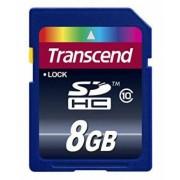 Transcend SDHC-Card - 8GB - Class10